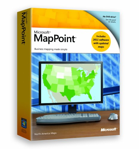 Microsoft MapPoint 2011 [Old Version]