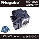 Mogobe ELPLP55 Compatible Projector Lamp With Housing For V13H010L55 EPSON PowerLite Presenter EPSON EB-W8D EPSON...