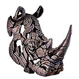 Edge sculpture - White Rhinoceros bust
