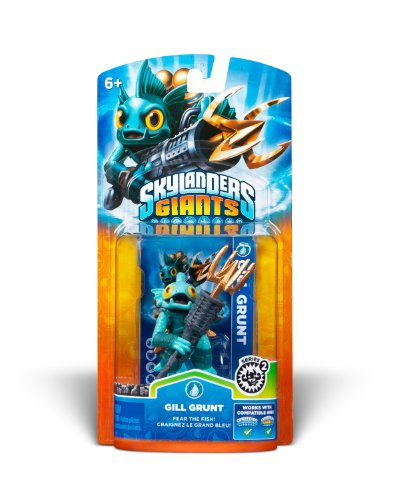 Skylanders Giants Single Character Pack - Gill Grunt 2