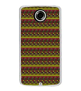 Colourful Pattern 2D Hard Polycarbonate Designer Back Case Cover for Motorola Nexus 6 :: Motorola Nexus X :: Motorola Moto X Pro :: Motorola Google Nexus 6