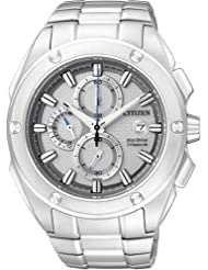 Citizen Eco-Drive Analog White Dial Men's Watch CA0210-51A