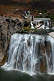 Shoshone Falls Waterfall in Idaho Journal: 150 page lined notebook/diary