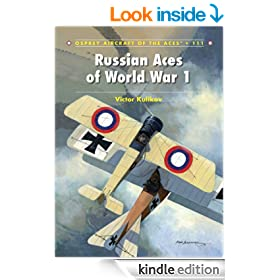 Russian Aces of World War 1 (Aircraft of the Aces 111)