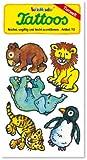 Zootiere Tattoos (Löwe, Elefant, Tiger, Pinguin, Bär) von Lutz Mauder // Kinder Kindertattoo Tatoo Tatto Kindergeburtstag Geburtstag Mitgebsel Geschenk