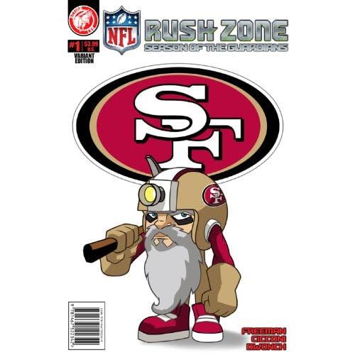 NFL Rush Zone: Season Of The Guardians #1 - San Francisco