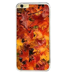 Autumn Leaves 2D Hard Polycarbonate Designer Back Case Cover for Apple iPhone 6 Plus :: Apple iPhone 6+