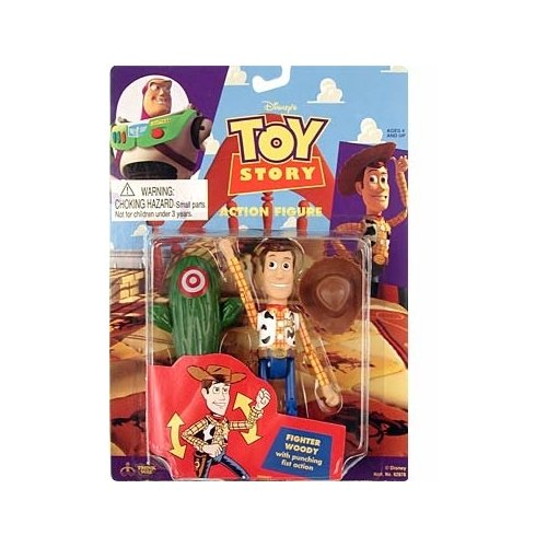 Toy Story Fighter Woody Action Figure