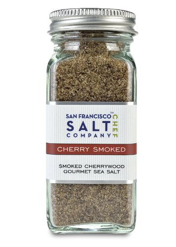 4 Oz Glass Shaker - Cherrywood Smoked Sea Salt