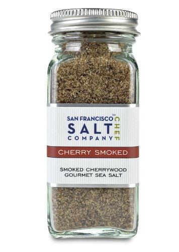 4 Oz Glass Shaker - Cherrywood Smoked Sea Salt