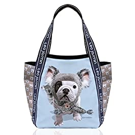 TEO JASMIN - Grand sac teo jasmin Teo koala gris lune