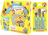 Something wonderful Mr Tumble 6-Piece Dinner Set | Mealtime | Dinnerware