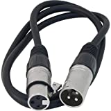 Whirlwind MIC03 XLR Female to XLR Male Microphone Cable