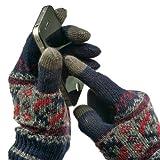 (マインドブロウby ラトルトラップ)MIND BLOW by RATTLE TRAP 手袋(スマートフォン対応手袋) メンズ 【ネイビー/F】