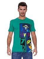 New Caro Camiseta Manga Corta Cassette (Verde)