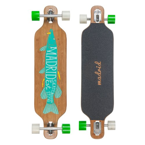 "Madrid Longboard – Dream Bamboo Pike DT 39"" (99 cm x 24,5 cm)"