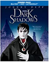 Dark Shadows Blu-ray Dvd Ultraviolet Digital Copy Combo Pack from Warner Home Video