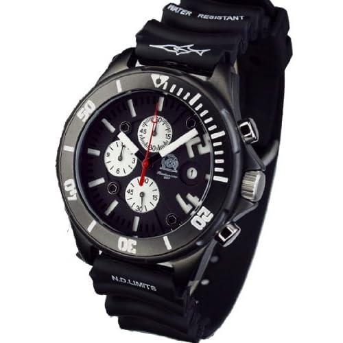[トーチマイスター1937]Tauchmeister1937 腕時計 ドイツ製ドイツ海軍ダイバーズ深海200M防水3Dダイヤル クロノグラフ T0241  (並行輸入品)