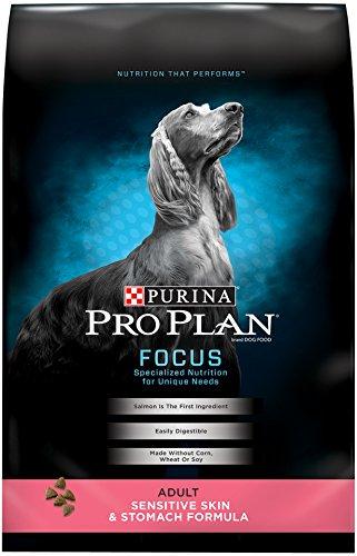 Purina Pro Plan Focus Dry Adult Dog Food, Sensitive Skin and Stomach Formula, 33-Pound Bag