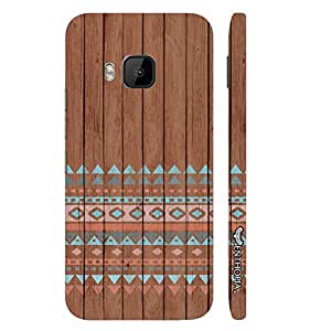 HTC One M9 The 2 elements designer mobile hard shell case by Enthopia