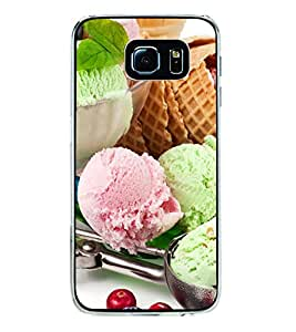 Colourful Ice-cream dollops 2D Hard Polycarbonate Designer Back Case Cover for Samsung Galaxy S6 G920I :: Samsung Galaxy G9200 G9208 G9208/SS G9209 G920A G920F G920FD G920S G920T