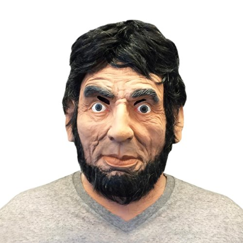 Abraham Lincoln Face Mask by Off the Wall Toys