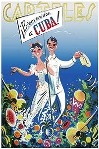 "Amazon.com: 11""x 14"" Poster. Carteles Magazine welcome to Cuba Travel"