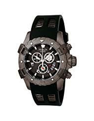 Invicta Men's 6327 Specialty Collection Chronograph Black Polyurethane Watch