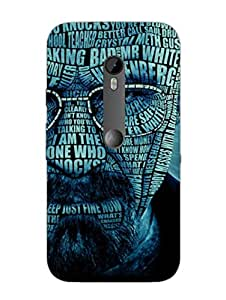 Moto X Style Back Cover - Breaking Bad Typography - Designer Printed Hard Shell Case