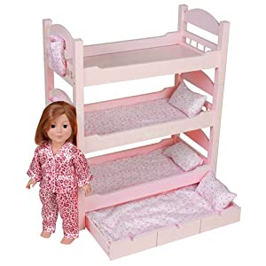 american girl triple bunk bed plans