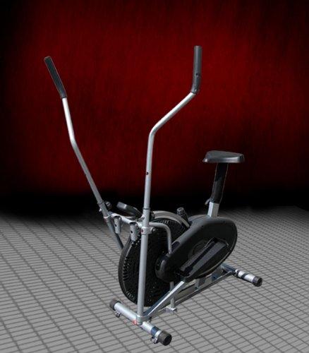 New 2 IN 1 Fitness Elliptical Cross Trainer & Exercise bike