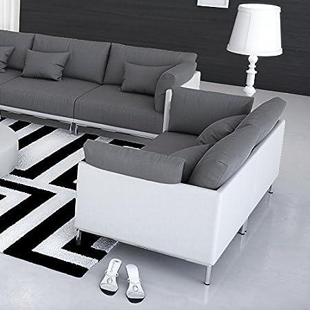 Innocent Sofa 2-Sitzer Farggi weiß / grau