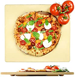 Crustina Rectangular Pizza Stone, 14 x 16-Inch