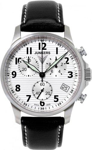 Junkers JU52 Chrono 6890-1 Elegante orologio da uomo Orologio aviatore