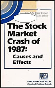 the causes and effects of the stock crashes Free stock market crash papers, essays, and research papers my account search results free essays good essays better essays stronger essays powerful essays term papers research.