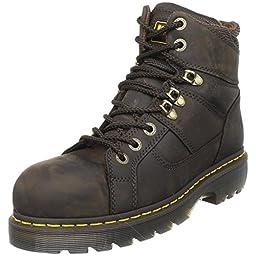Dr. Martens Ironbridge Safety Toe Boot,Gaucho,10 UK/12 M US Women\'s/11 M US Men\'s