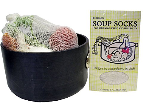 Regency Natural Soup Socks for Making Soup Stock set of 3 (Mesh Cooking Bags compare prices)