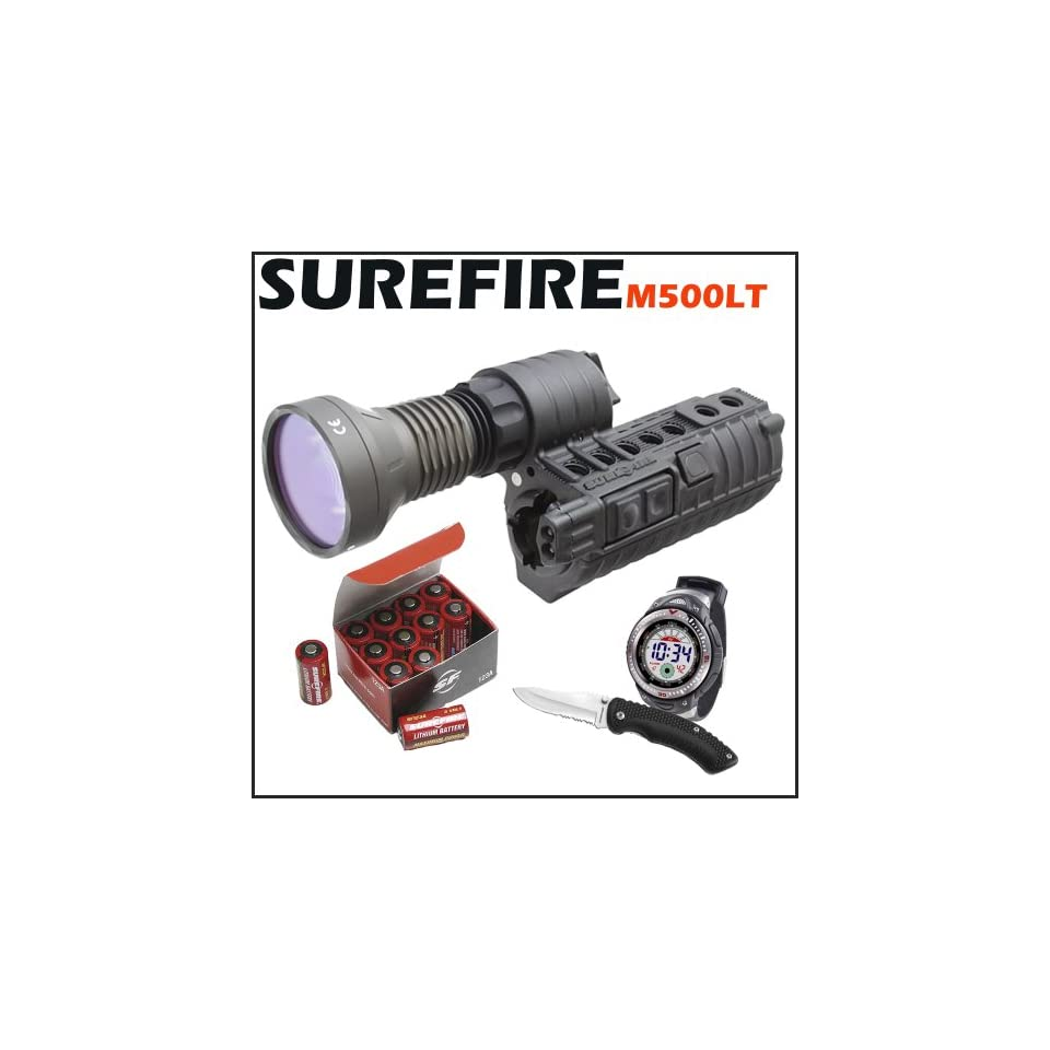SureFire M500LT LED WeaponLight for M4 and Variants Extended