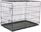 Brand New Folding Dog Cat Kennel Crate Cage 48""