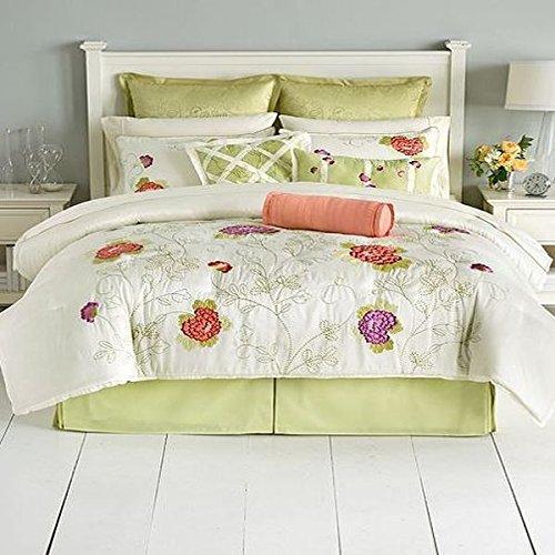 Martha Stewart Collection In Bloom 9 Piece Queen Comforter Set