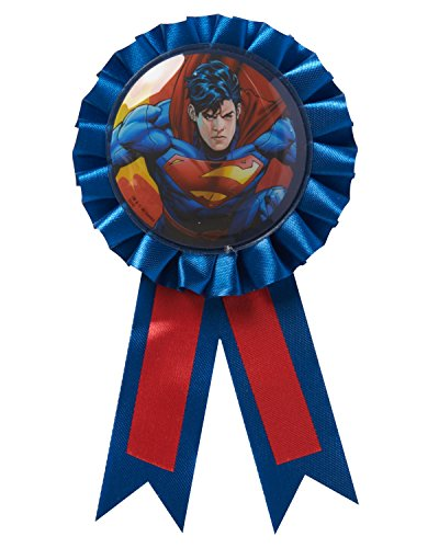 American Greetings Superman Ribbon Badge - 1