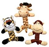 image KONG Cat BraidZ Safari Catnip Toy (Assorted)