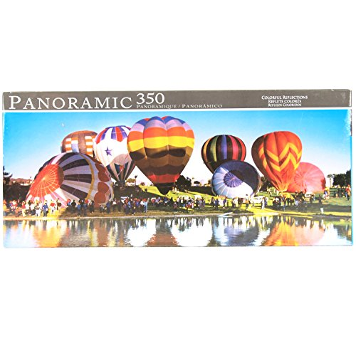 Panoramic View Hot Air Balloon Festival Jigsaw Puzzle 2009