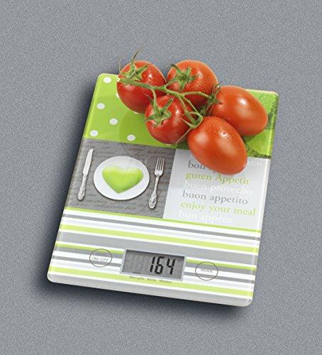 Wenko 25225100 Menu Balance de Cuisine 25,8 x 17,0 x 3,0 cm