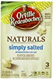 Orville Redenbachers Gourmet Microwavable Popcorn, Natural Simply Salted, 3-Count Boxes (Pack of 12)