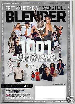 Blender Magazine: 1001 Greatest Songs to Download NOW! (Dec. '08/Jan. '09)