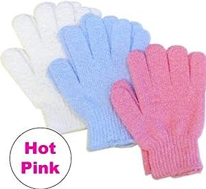 Aquasentials Exfoliating Bath Gloves (2 pairs)