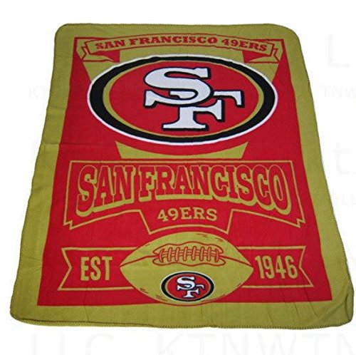 49ers Blanket Fleece front-1046661