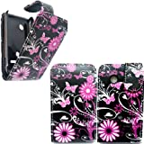 SONY XPERIA TIPO ST21I BUTTERFLY FLIP CASE HÜLLE TASCHE