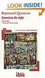 Exercices De Style (Folio Plus Classique)